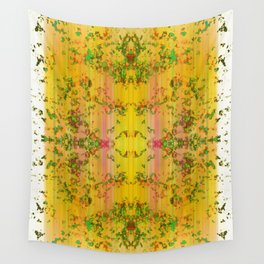 fresh stylized garden Wall Tapestry