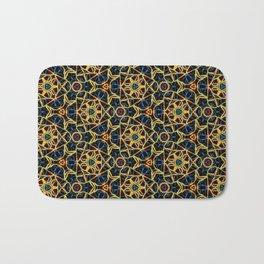 Beadwork Inspired Pattern Bath Mat