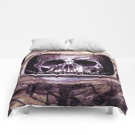 Space Skeleton  Comforters