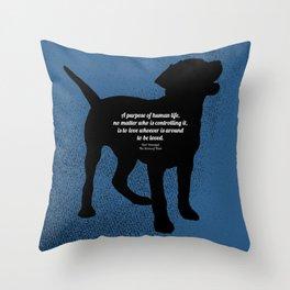 The Purpose Throw Pillow