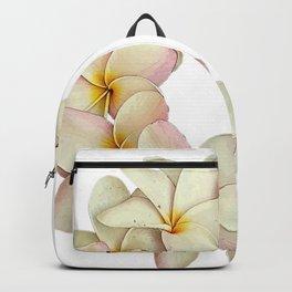 Plumeria Tropical Flower Garland Backpack