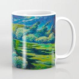 Václav Radimský (1867-1946) Before The Storm Impressionist Landscape Oil Painting Coffee Mug