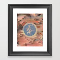 saa Framed Art Print