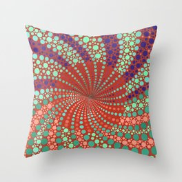 IN BETWEEN LAYERS I Throw Pillow