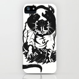hood_rat iPhone Case