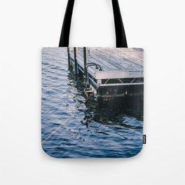 Lake Indigo Tote Bag