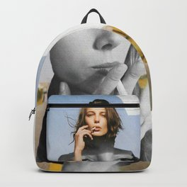 Smoking Girl Backpack