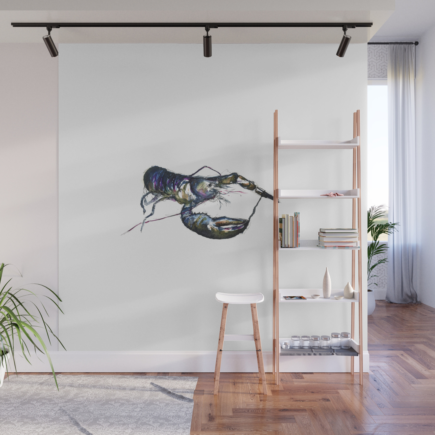 Lobster Ink Wall Mural by carllatter ...
