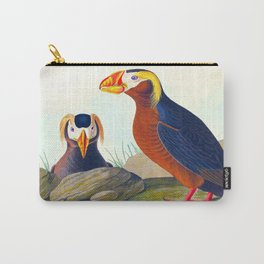 Tufted Auk Bird Carry-All Pouch