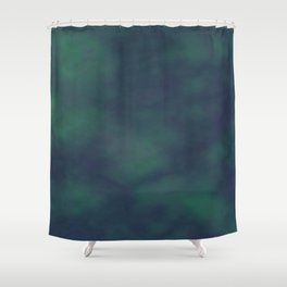 Dark blue and green marble Shower Curtain