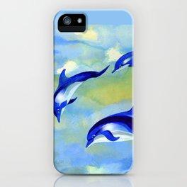 Dolphin Fantasy iPhone Case