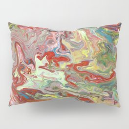 Abstract Oil Painting 4 Pillow Sham