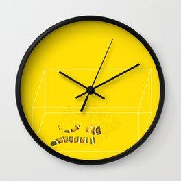 San Bernardino Mountain Kingsnake Wall Clock
