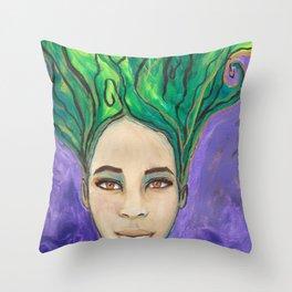 Venus Rising Throw Pillow
