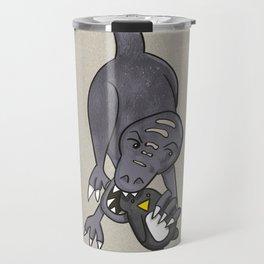 Doggo Dinosaur Travel Mug