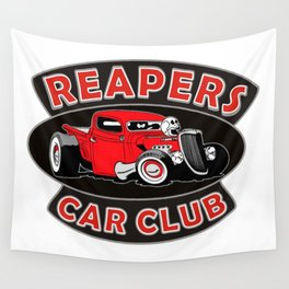 REAPERS CAR CLUB INTERNATIONAL Wall Tapestry