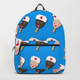 nurse ice cream popsicle Backpack
