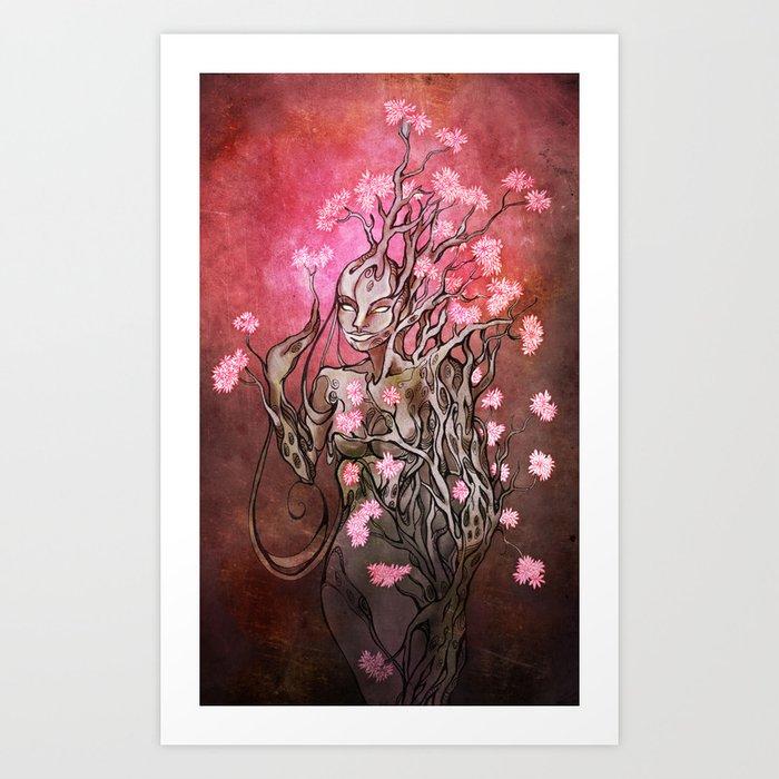 Lumen Blossoms Art Print