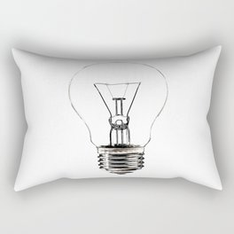 I Have an Idea!  Let there be light... Rectangular Pillow
