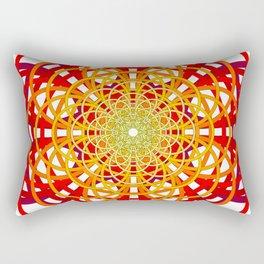 Circles to Oblivion Rectangular Pillow