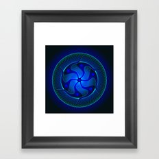 Circle Study No. 371.1 Framed Art Print
