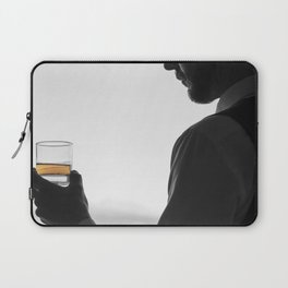 Gentleman with Scotch Laptop Sleeve