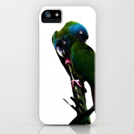 Something about Love   Tropical nature photograph iPhone Case