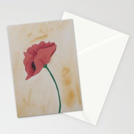 Solo Poppy Stationery Cards
