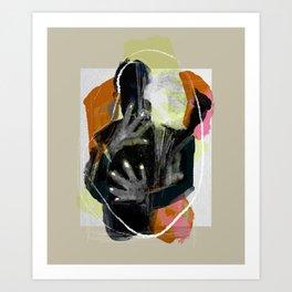 An embrace's mutation Art Print