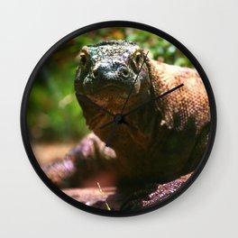 Curious Komodo Wall Clock