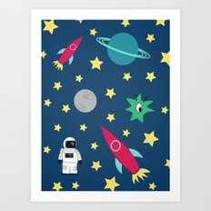 Space Objective Art Print