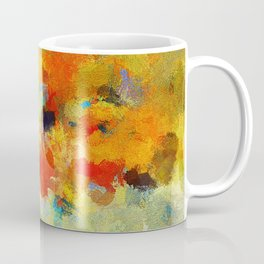 Abstract Colorful Landscape Painting Coffee Mug