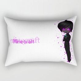 Lonely Enderchibi V2 Rectangular Pillow