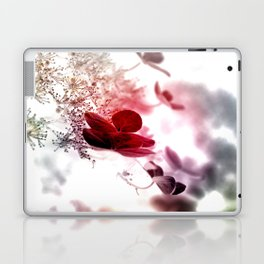 climbing hydrangea red Laptop & iPad Skin