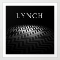 david lynch Art Prints featuring Lynch by Spyck