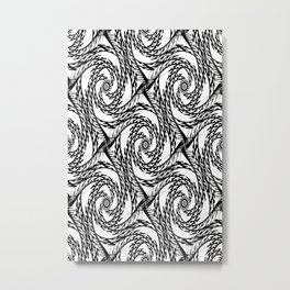 Feelin' Black&White... Metal Print