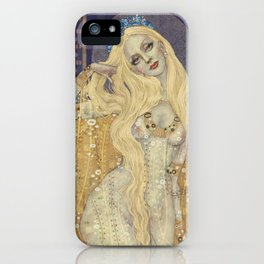 Golden Gown iPhone Case