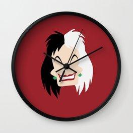 101 Dalmations - Cruella De Vil Wall Clock