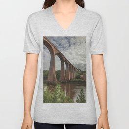 Whitby Viaduct Unisex V-Neck