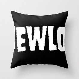 A New Low classic logo Throw Pillow