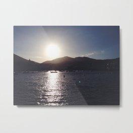 Cadaques Sunset 2 Metal Print