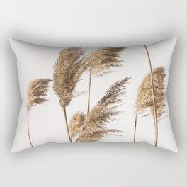 Reed Grass   Nature Photography Rectangular Pillow