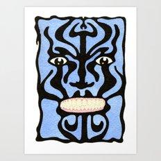 Queequeg Art Print