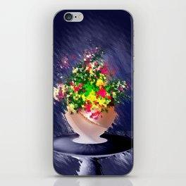 Ton und Blumen. Stilleben. iPhone Skin