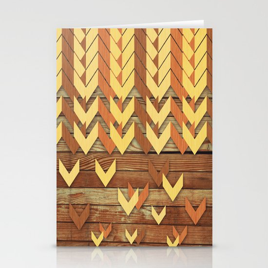 ZigZag Woody Stationery Cards