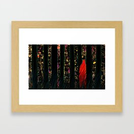One day, suddenly Framed Art Print