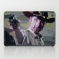 rick grimes iPad Cases featuring Rick Grimes by Processed Image