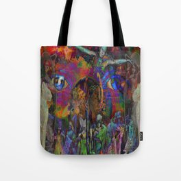 Circus of the Mind Tote Bag