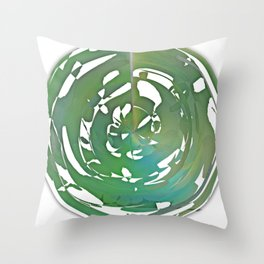 Heart and Throat chakra connection Throw Pillow