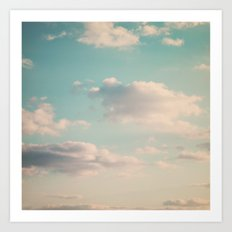 An endless affair with the upper atmosphere Art Print